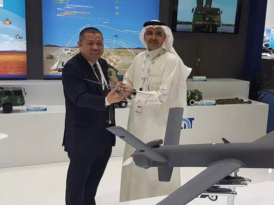 """沙特将引进中国的""""彩虹""""系列无人机生产线"""
