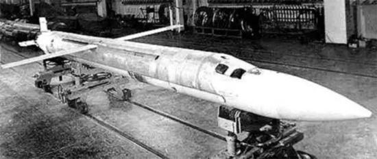 """早期的3M51""""阿尔法""""导弹"""