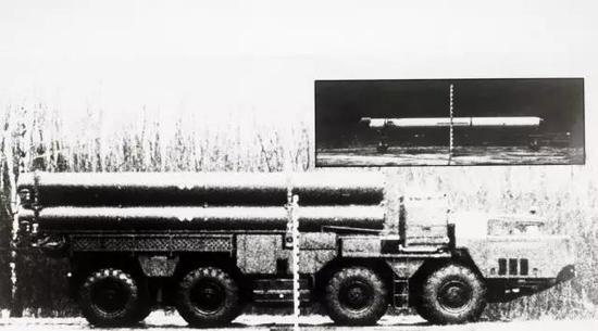 昙花一现的苏联RK-55导弹及其发射车