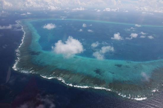 资料图:中国黄岩岛