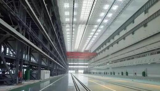 原文peit:中国已建成的世界最大核潜艇生产厂房