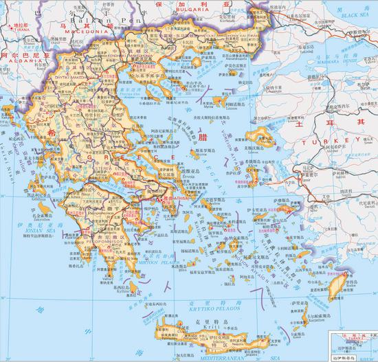 现希腊土耳其边界