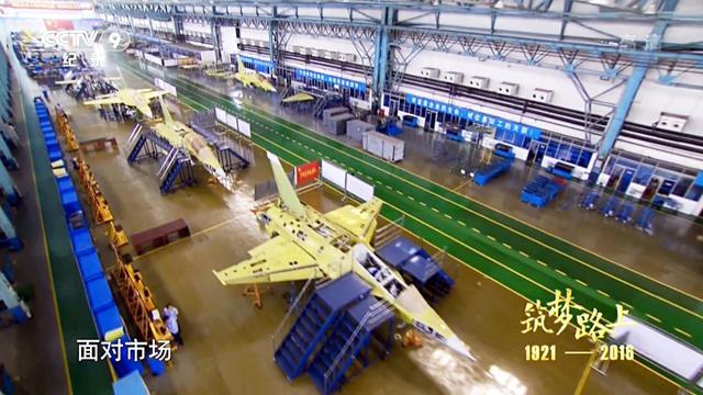 飞机也疯狂下饺子!中国L15战机使用脉动生产线