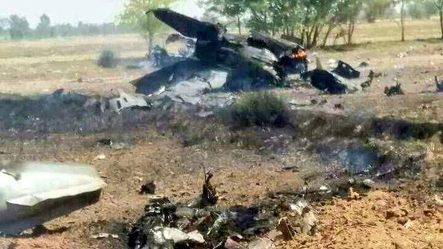 印度那架苏30找到没?巴基斯坦一架歼7战机坠毁
