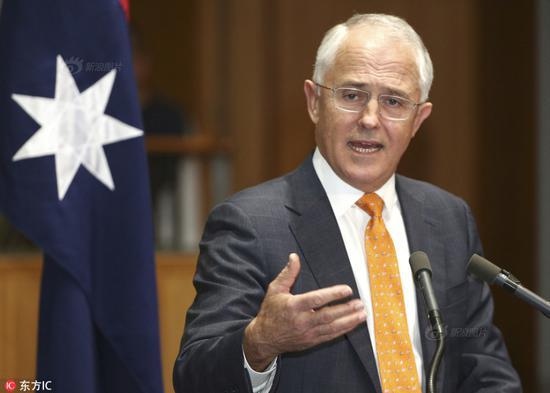 澳大利亚总理与特朗普会晤谈中国问题