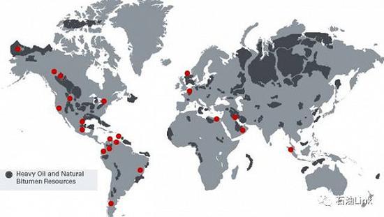 世界稠油油藏分布(图:图:石油Link)