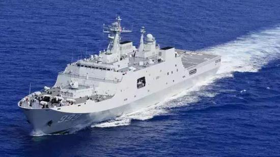 中国派首个海外基地舰船令人惊喜 可登陆全球70%海岸