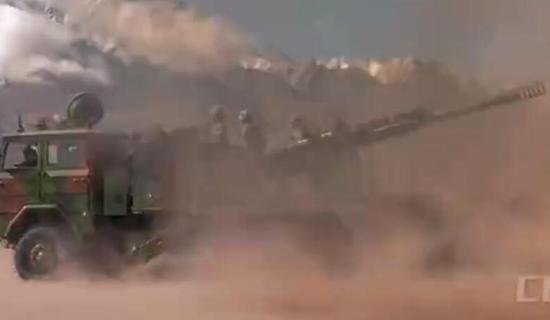 中国重炮山地部队西藏大演习