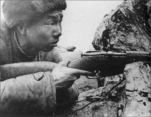 志愿军的狙击之王:张桃芳