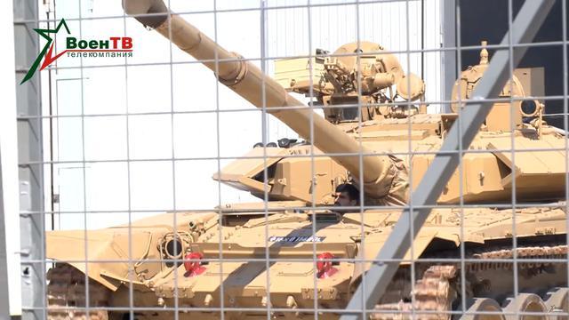 印度参赛T90坦克抵达俄罗斯:中印坦克对决上演
