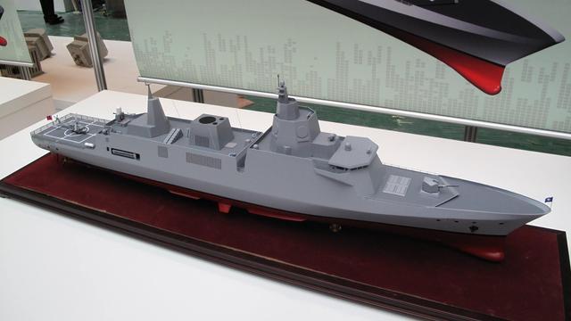 055大驱都下水了!台湾幻想的自造神盾舰还没影