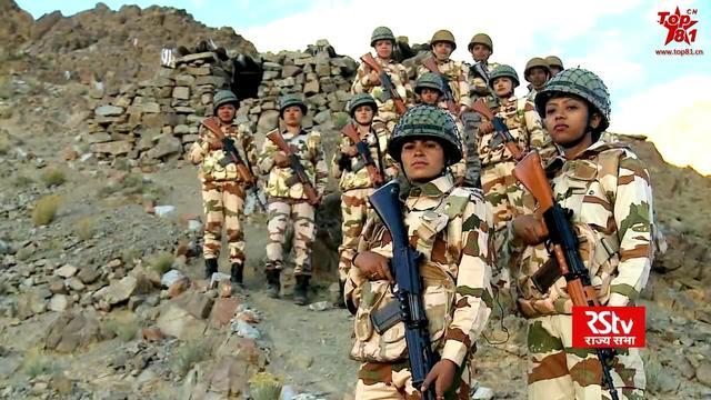 在班公湖和解放军冲突的印度部队:还有女兵?