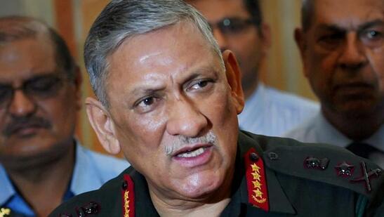 印度陆军参谋长拉瓦特