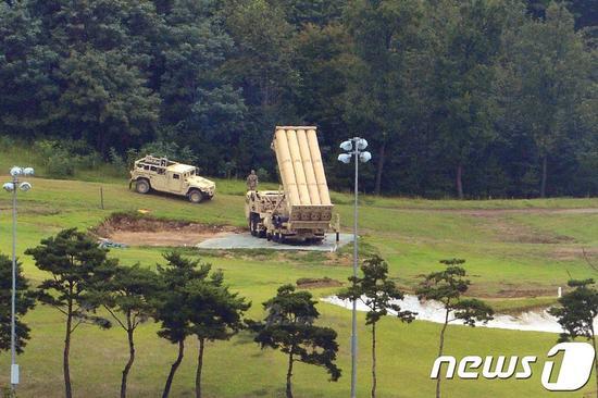 韩媒称6辆萨德发射车全部完成部署 已投入作战运行