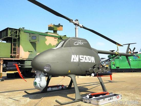 中国攻击无人直升机要赶超美军:能实现时敏打击