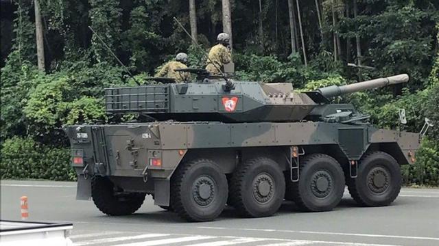 中国轮突干翻他!日本陆自16式装甲车批量生产