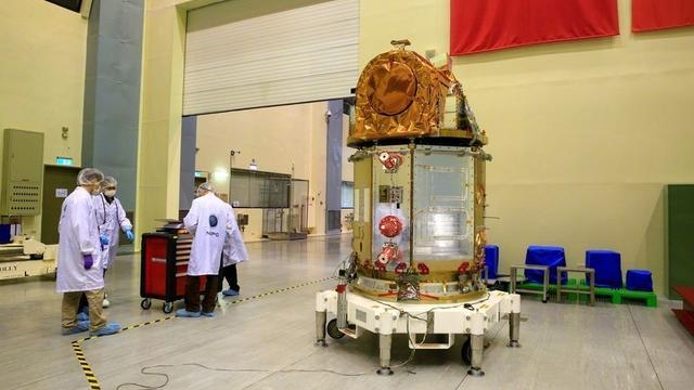 台造价56亿卫星拍照模糊 升空不足30天主功能或报废
