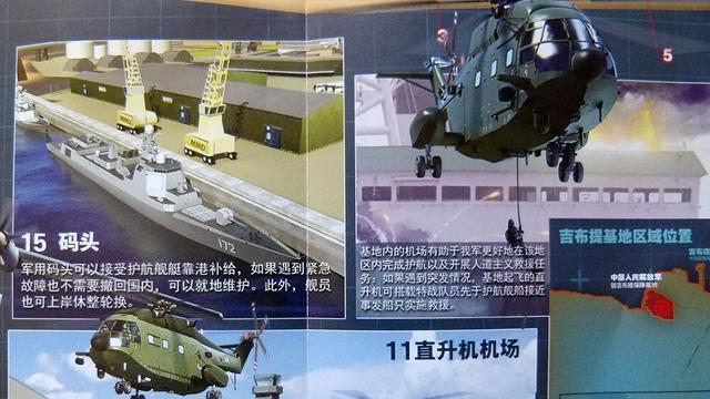 设备齐全!中国解放军驻吉布提保障基地想象图