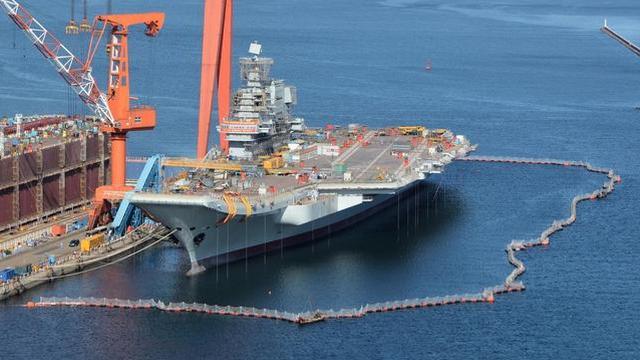 进度喜人!中国国产航母开始消磁作业首航不远