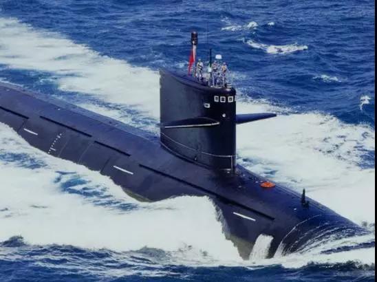 093攻击核潜艇在印度洋护航