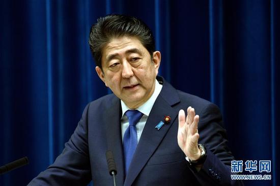 日本媒体:安倍估量将表白他将继续担当首相