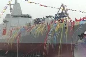 中国055万吨大驱装备性能已追平世界一流驱逐舰
