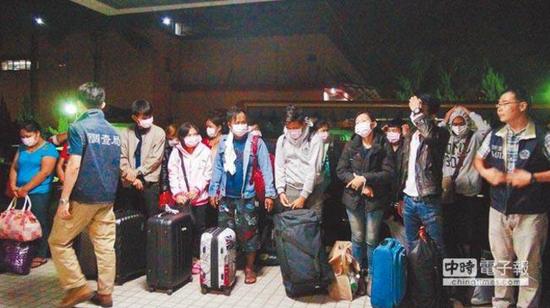 泰国人组团赴台研习骗术