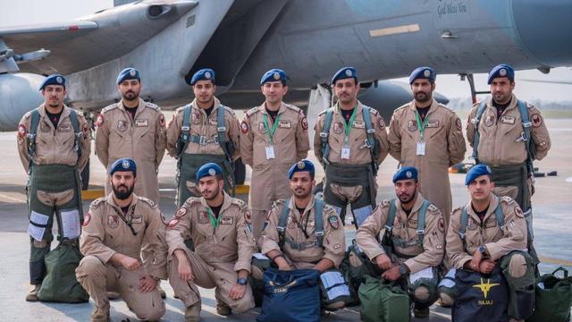 枭龙和F-15要PK了?巴基斯坦和沙特空军联合演习