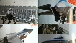 歼20和歼10战机令中国的腰杆挺直