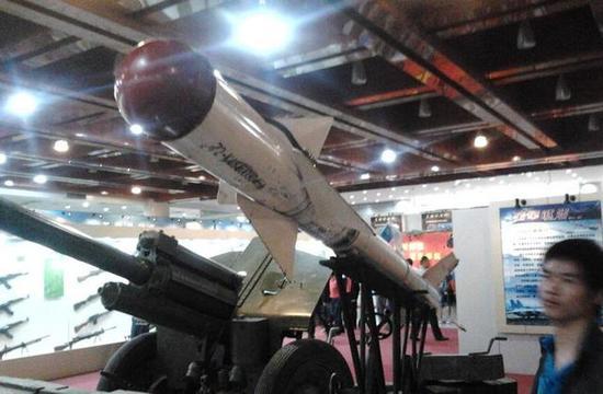 中国缴获的美制响尾蛇导弹