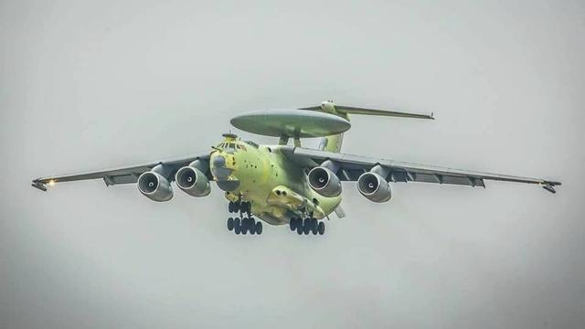 赶超中国空警2000?俄新型预警机A-100首飞