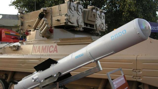 印度撕毁军火合同 拒绝从以色列购买8千枚导弹