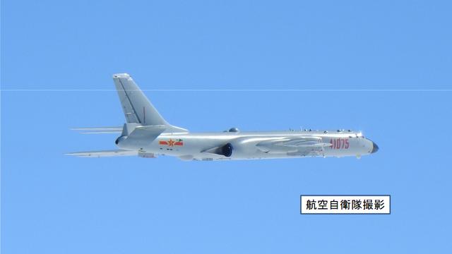 颤抖吧!6天内中国空军战机第3次飞越宫古海峡