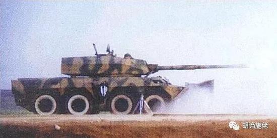 ▲ 大家记住BK1990的唯一理由,应该就是这门 120毫米滑膛炮