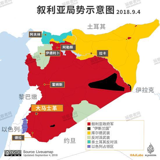 叙利亚伊德利卜之战前夕 土耳其与俄罗斯、伊朗不和