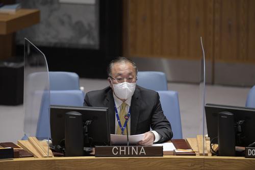 中国代表在联合国安理会就缅甸局势阐述中方立场