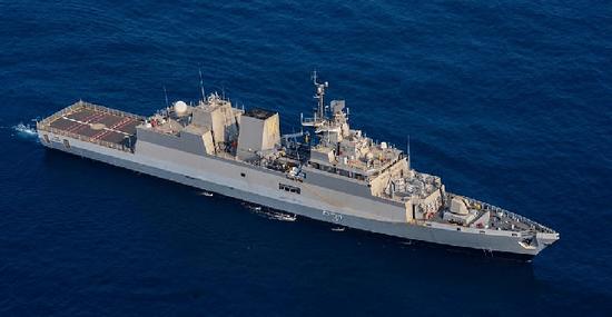 """印度新军舰服役 印媒:将成为中国潜艇的""""肉中刺"""""""