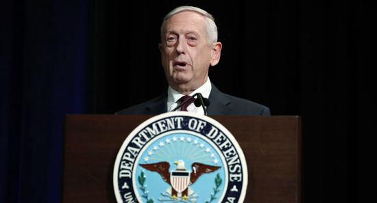 美国防长:对叙利亚军事打击力度将超2017年