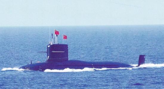中国093B核潜艇新角度曝光 围壳后神秘凸起清晰可见重庆反日游行