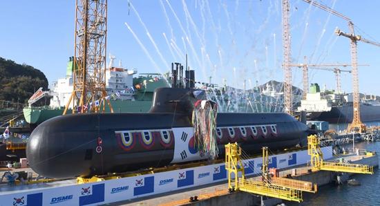 美媒:韩试射潜射弹道导弹或成唯一有此武器非核国家