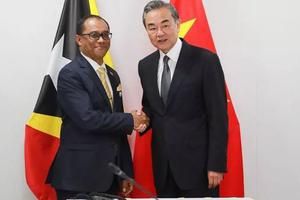 东帝汶外长:与中国的友谊并不会损害东帝汶国家利益