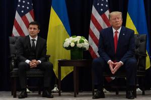 特朗普指控美国民主党歪曲他与乌克兰总统通话