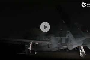 美国空军RQ-4无人侦察机赴伊朗进行夜间侦察
