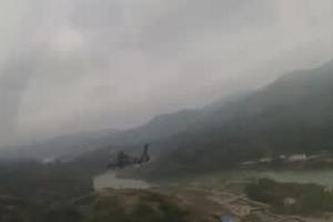 实拍:第75集团军某空中突击旅高原跨昼夜飞行训练
