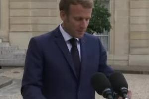 默克尔任内最后一次访问法国:双方讨论阿富汗问题