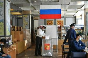 俄媒:统俄党赢得国家杜马选举继续保持宪法多数地位