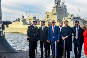 法国和美英澳闹翻的潜艇大单有多大?接近澳三年军费