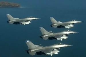 台军首支F-16V战机作战队将成军 妄称对抗歼-20