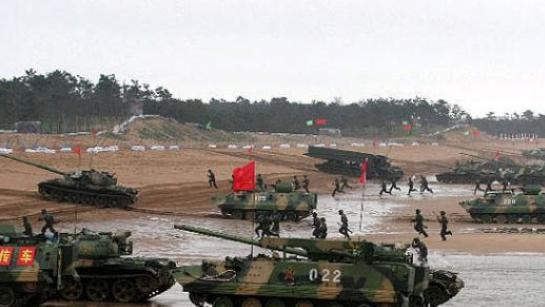 官宣:解放军东部战区在台湾海峡及南北两端实战演习