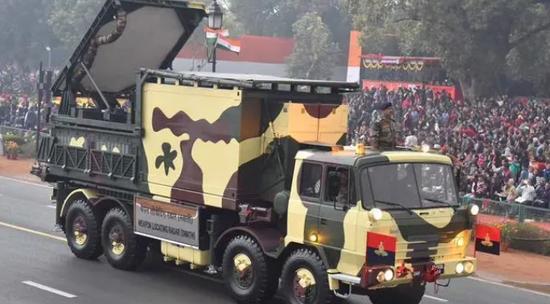 印军将装备6部新雷达 可在边境附近定位解放军炮兵